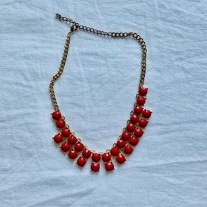 Ruby Red Neacklace